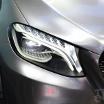 Mercedes-Benz Concept Coupe SUV at 2014 Beijing Auto Show - headlamp detail