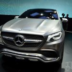 Mercedes-Benz Concept Coupe SUV at 2014 Beijing Auto Show - nose