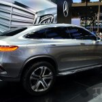 Mercedes-Benz Concept Coupe SUV at 2014 Beijing Auto Show - rear three quarter