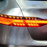Mercedes-Benz Concept Coupe SUV at 2014 Beijing Auto Show - taillight detail