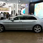 Mercedes C-Class long wheelbase profile at Auto China 2014