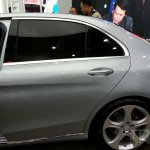 Mercedes C-Class long wheelbase rear door at Auto China 2014