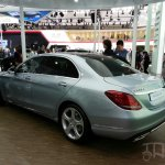 Mercedes C-Class long wheelbase rear three quarters left at Auto China 2014