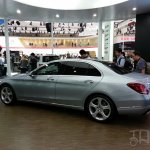 Mercedes C-Class long wheelbase rear three quarters view at Auto China 2014