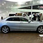 Mercedes C-Class long wheelbase side at Auto China 2014