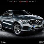 Mercedes MLC rendering