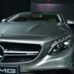 Mercedes S63 AMG Coupe at 2014 NY Auto Show grille