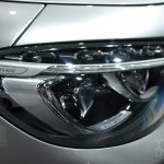 Mercedes S63 AMG Coupe at 2014 NY Auto Show headlight lens