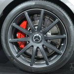 Mercedes S63 AMG Coupe at 2014 NY Auto Show wheel