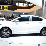 New Chevrolet Cruze side at Auto China 2014
