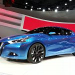 Nissan Lannia concept at 2014 Beijing Auto Show - front three quarter left
