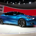 Nissan Lannia concept at 2014 Beijing Auto Show - front three quarter profile
