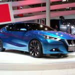Nissan Lannia concept at 2014 Beijing Auto Show - front three quarter