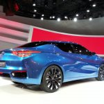 Nissan Lannia concept at 2014 Beijing Auto Show - rear three quarter right