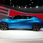 Nissan Lannia concept at 2014 Beijing Auto Show - side view