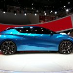 Nissan Lannia concept at 2014 Beijing Auto Show - side