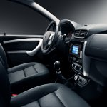 Nissan Terrano (Russia-spec) front interior press shot