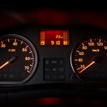 Nissan Terrano (Russia-spec) instrument cluster press shot