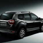 Nissan Terrano (Russia-spec) rear three quarter press shot