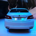 Peugeot 408 sedan rear at Auto China 2014