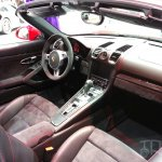 Porsche Boxster GTS dashboard at Auto China 2014