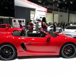 Porsche Boxster GTS side at Auto China 2014