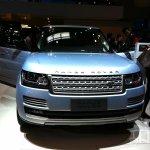 Range Rover Hybrid Long Wheelbase front at Auto China 2014
