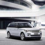 Range Rover Hybrid Long Wheelbase press image