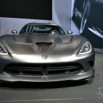 SRT Time Attack on Anodized Carbon Special Edition Viper at 2014 New York Auto Show - front profile