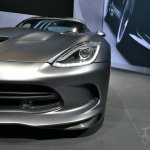 SRT Time Attack on Anodized Carbon Special Edition Viper at 2014 New York Auto Show - front