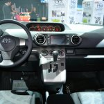 Scion xB Release Series 10.0 dashboard at the 2014 New York Auto Show