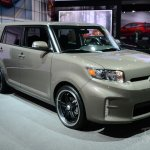 Scion xB Release Series 10.0 front three quarters at the 2014 New York Auto Show