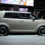 Scion xB Release Series 10.0 side at the 2014 New York Auto Show