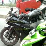 Spied in Indonesia Yamaha R25 front fairing