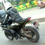 Spied in Indonesia Yamaha R25 rear quarter