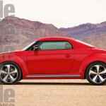 VW Beetle coupe rendering