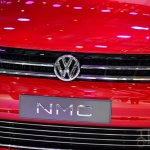 VW New Midsize Coupe Concept grille at Auto China 2014