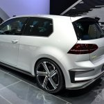 Volkswagen Golf R 400 concept rear three quarters