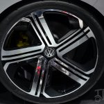 Volkswagen Golf R 400 concept wheel