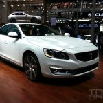 Volvo S60L Hybrid front three quarters at Auto China