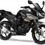 Yamaha Fazer press shot Milestone Black