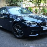 2014 BMW 530d M Sport Review front quarter view