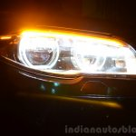 2014 BMW 530d M Sport Review headlight unit