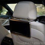2014 BMW 530d M Sport Review rear entertainment unit