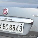 2014 Fiat Linea diesel Review bootlid