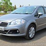 2014 Fiat Linea diesel Review front quarter