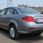 2014 Fiat Linea diesel Review rear three quarters