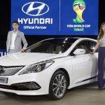 2014 Hyundai Grandeur diesel revealed at Busan Motor Show 2014
