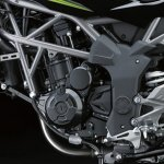 2014 Kawasaki Z250 SL press shots engine