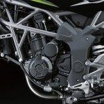 2014 Kawasaki Z250 SL press shots engine
